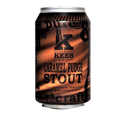 Kees Caramel Fudge Stout 330ml Can