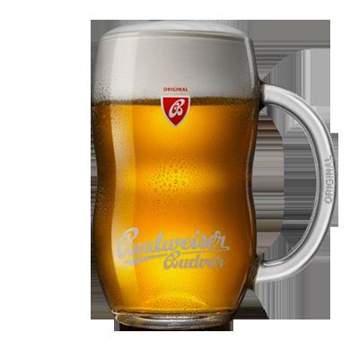 Budejovicky Budvar Czech Beer Mug