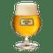 Poperings Hommel Bier Glass