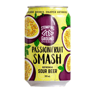 Stomping Ground Passionfruit Smash Refreshing Sour Beer