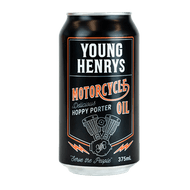 Young Henry's Motorcycle Oil Porter 375ml Can