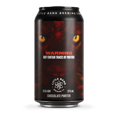 Little Bang May Contain Traces of Panther Chocolate Porter