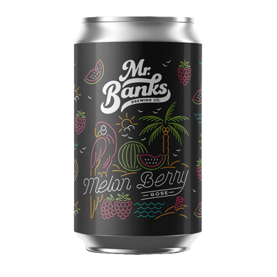 Mr Banks Melon Berry Gose