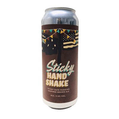 Nomad/The Bruery Sticky Handshake Brown Ale