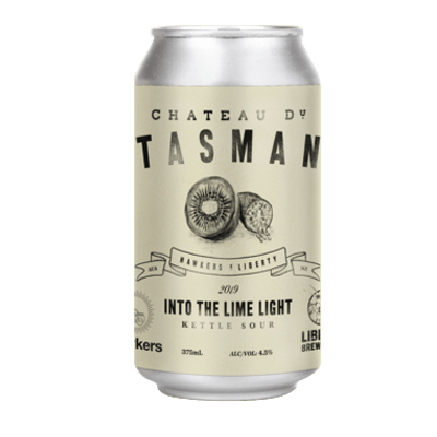 Liberty / Hawkers Chateau Du Tasman - Into The Lime Light Sour Ale
