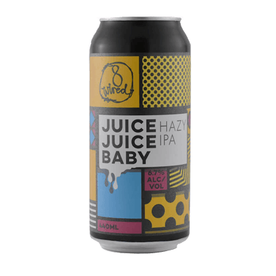 8 Wired Juice, Juice Baby Hazy IPA