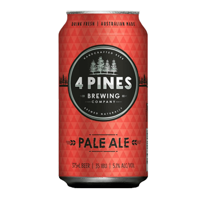 4 Pines Pale Ale 375ml Can