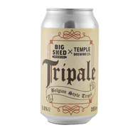 Temple/Big Shed Tripale Belgian Style Ale