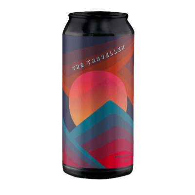 Quiet Deeds/Carwyn Cellars The Traveller Hazy DIPA (1 Can Limit)