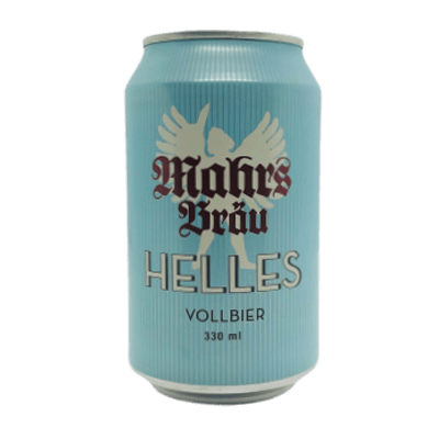 Mahr's Brau Helles Vollbier (330ml Can)