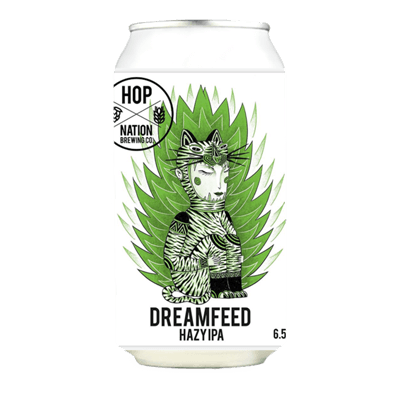 Hop Nation Dreamfeed Hazy IPA (3 Can Limit)
