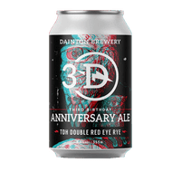 Dainton Third Birthday Anniversary Ale TDH Double Red Eye Rye IPA