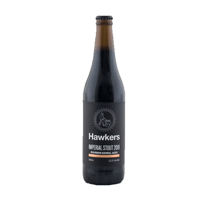 Hawkers Bourbon Barrel Aged - Imperial Stout 2019 (1 Limit)