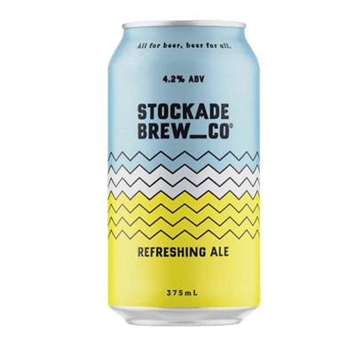 Stockade Refreshing Ale 375ml Can