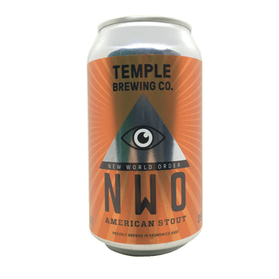 Temple New World Order Stout 355ml Can