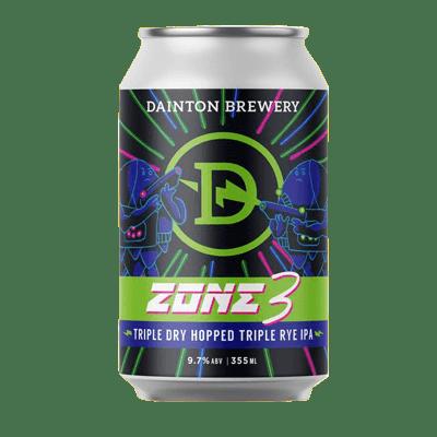 Dainton Zone 3 Triple Dry Hopped Triple Rye IPA