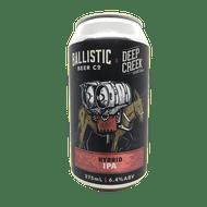 Ballistic/Deep Creek Hybrid IPA