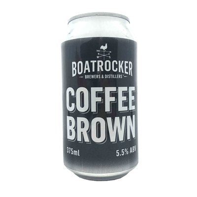 Boatrocker Coffee Brown Ale 375ml Can