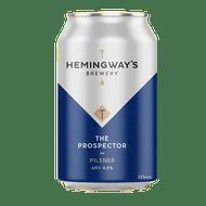 Hemingway's The Prospector Pilsner
