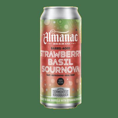 Almanac Beer Strawberry Basil Sournova Barrel-Aged Sour Ale