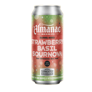 Almanac Beer Strawberry Basil Sournova Barrel-Aged Sour Ale