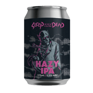 Ballistic Sleep When You're Dead Hazy IPA (2 Can Limit)