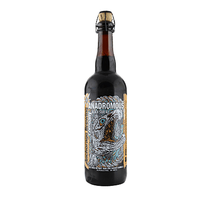 Anchorage Anadromous Belgian Black Bier
