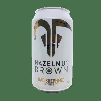 Bad Shepherd Hazelnut Brown Ale 355ml Can
