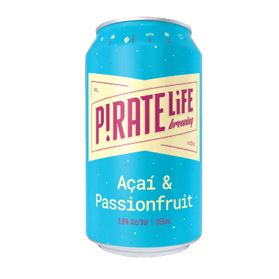 Pirate Life Acai & Passionfruit Sour