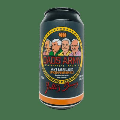 Yulli's Brews Dad's Army: Van's Spiced Pumpkin Ale