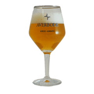 Abdij Abbaye Averbode Beer Glass