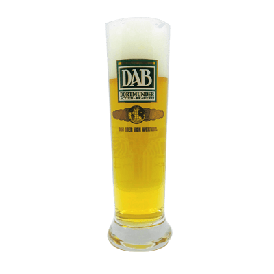 DAB Tall Pilsner Glass
