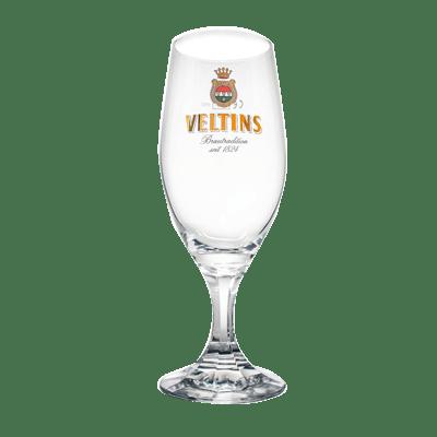 Veltins Stemmed Pilnser Glass