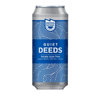 Quiet Deeds Double Juice Train Double NEIPA