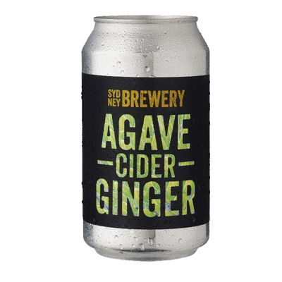 Sydney Agave Ginger Cider 355ml Can