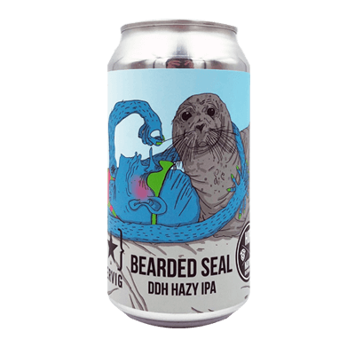 Hop Nation Bearded Seal DDH Hazy IPA (2 Can Limit)