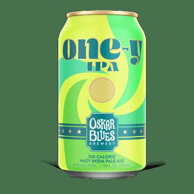 Oskar Blues One-y 100 Calorie Hazy IPA