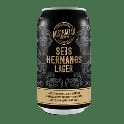 Australian Brewery Seis Hermanos Lager