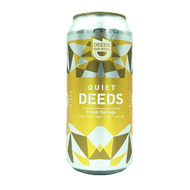 Quiet Deeds Fiscal Damage Hazy Triple IPA