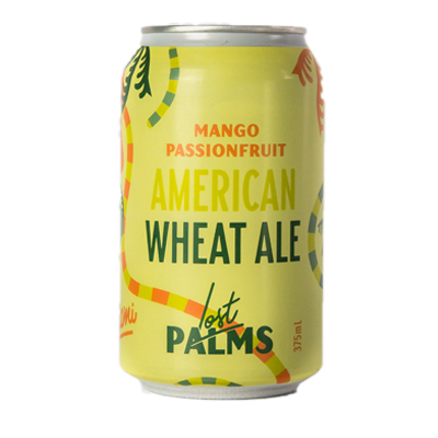 Lost Palms Mango & Passionfruit American Wheat Ale