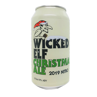 Wicked Elf Christmas Ale 2019 Nitro