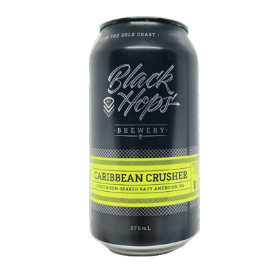 Black Hops Caribbean Crusher  Hazy IPA