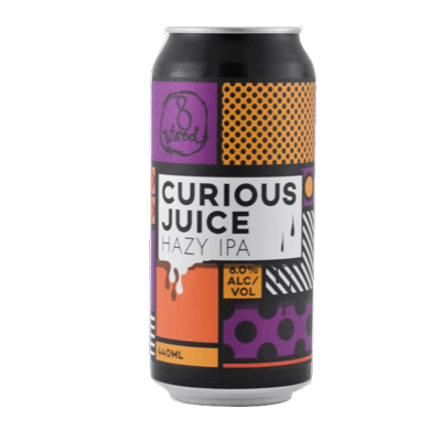 8 Wired Curious Juice Hazy IPA