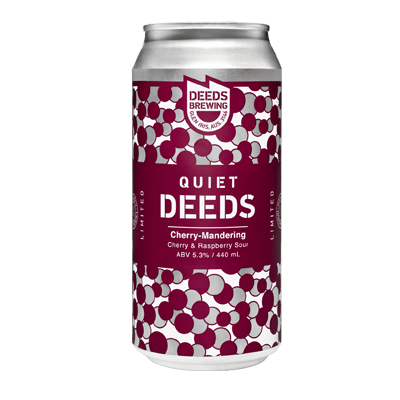 Quiet Deeds Cherry-Mandering Sour Ale