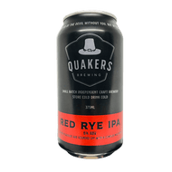 Quakers Hat Red Rye IPA