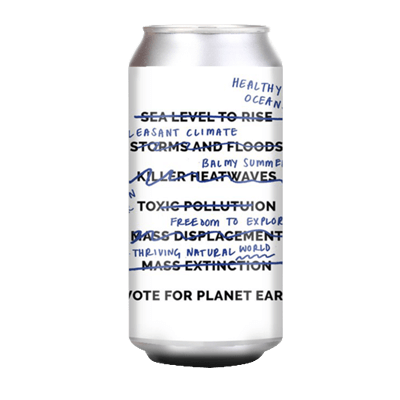 Cloudwater A Vote For Planet Earth NEIPA