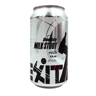 Exit #023 Double Milk Stout (375ml Can)