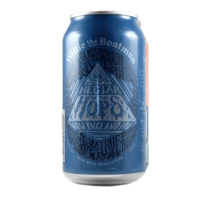 Willie the Boatman Nectar of the Hops 375ml Can