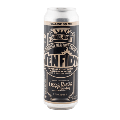 Oskar Blues Ten FIDY Barrel Aged Chocolate Hazelnut Praline