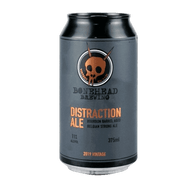 Bonehead Distraction Ale Bourbon Barrel Aged Belgian Strong Ale